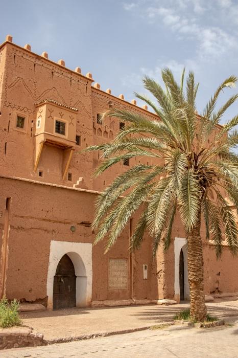 Fachada do Casbá Taourirt em Ouarzazate